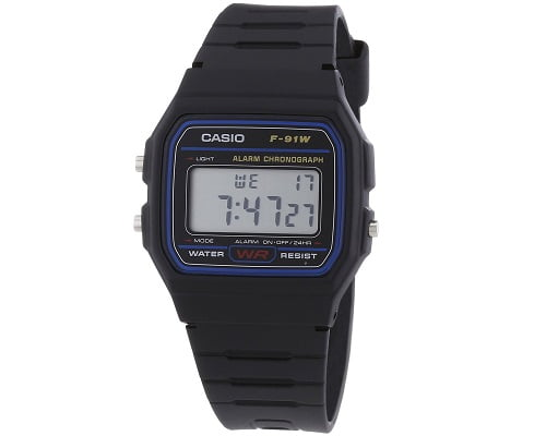 Reloj clásico Casio F-91W-1XY barato, chollos en relojes, relojes baratos, ofertas en relojes