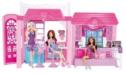 Oferta casa con mu eca y accesorios barbie solo por 35 tu blog de - Arreglar la casa de barbie ...