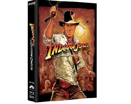 Quadrilogía Indiana Jones Blu-Ray barata, chollos Blu-Ray, ofertas Blu-Ray, películas en Blu-Ray baratas