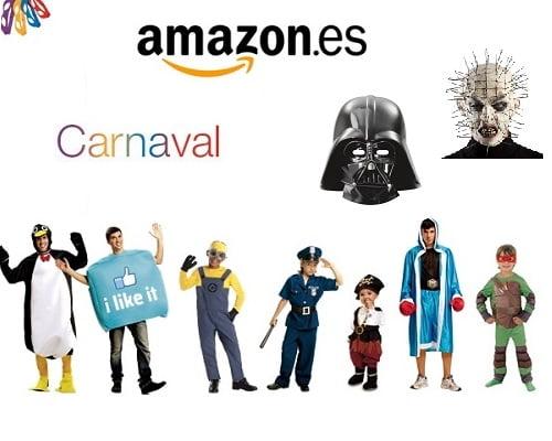 Disfraces de carnaval baratos, Chollos en disfraces de carnaval, Ofertas en disfraces de carnaval