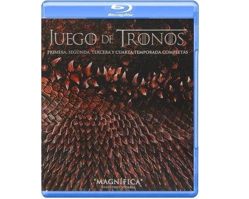 Serie Juego de tronos barato, Series baratas, Series Blu Ray baratas, Series DVD baratas, Juego de tronos barato, Cuatro temporadas juego de tronos barato