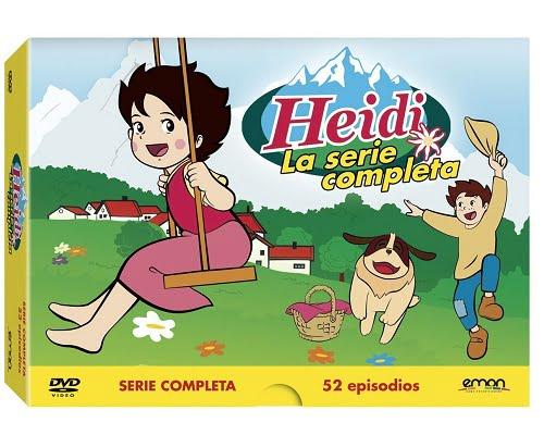 Serie completa de Heidi en DVD barata, Chollos series dibujos animados, Chollos series, Series baratas, Dibujos animados baratos