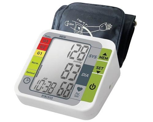 Tensiómetro de brazo HoMedics barato, ofertas en tensiómetros, chollos en tensiómetros, tensiómetros baratos, descuentos en tensiómetros