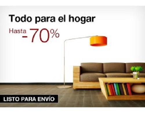 Ofertas  para el hogar baratas, Lámparas baratas, Toallas baratas, Menaje para el hogar barato