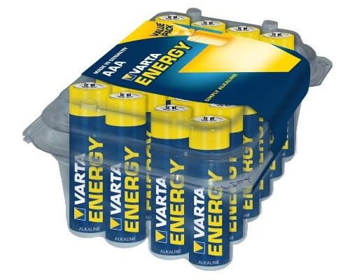Pack de 24 pilas alcalinas Varta baratas, Chollos pilas alcalinas, Pilas baratas, baterías baratas