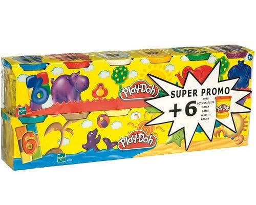 Plastilina Play-Doh barata, chollos en juguetes, juguetes baratos, regalos para niños baratos, ofertas en juguetes, chollos en correpasillos, correpasillos baratos, plastilina barata