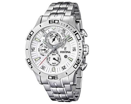 Reloj cronógrafo Festina barato, chollos en relojes, relojes baratos, ofertas en relojes