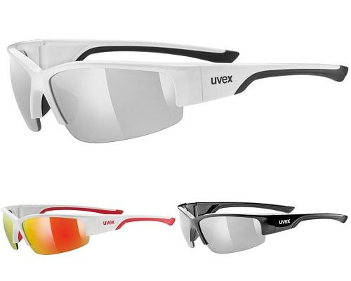 Gafas de sol para deporte Uvex baratas, chollos en gafas de sol, gafas de sol baratas, ofertas en gafas de sol, gafas para ciclismo baratas