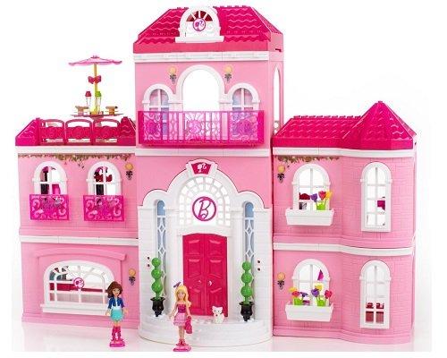mansión de lujo Barbie de Mega Bloks barata, chollos Mega Bloks, Barbies baratas, juguetes baratos, chollos en juguetes, Mega Bloks baratos