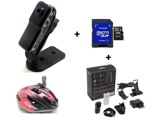 Mini cámara de video deportiva Unotec barata, cámaras de video baratas, chollos en cámaras de video, ofertas en cámaras de video