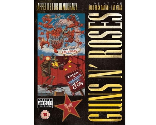 Pack Guns n' Roses Appetite For Democracy barato, música barata, DVD de música barata, CD de música barata, chollos en música rock