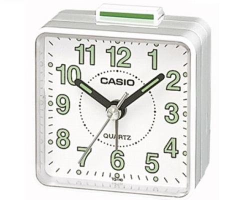Reloj despertador analógico Casio TQ-140-7EF barato, despertadores baratos, chollos en despertadores