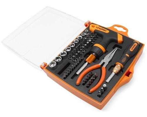 kit herramientas Unotec Kither54 barato, herramientas baratas, chollos en herramientas, cajas de herramientas baratas