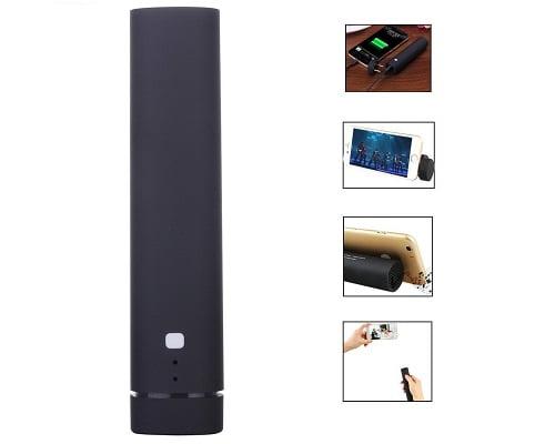 batería externa, disparador y altavoz Bluetooth y soporte diZaul barato, baterías externas baratas, altavoces Bluetooth baratos, chollos en baterías externas, chollos en altavoces Bluetooth