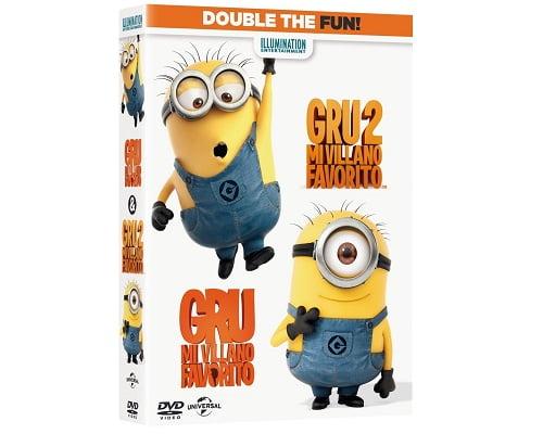 Películas de Gru mi villano favorito baratas, películas en DVD baratas, chollos en películas, películas de animación baratas