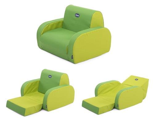 Sofá relax infantil Chicco Twist Wimbledon barato, sofás infantiles baratos, sofás baratos, chollos en sofás para niños, sillas para niños baratas