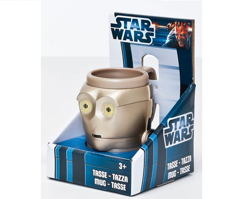 Taza 3D de C3PO Star Wars 43059 barata, tazas de C3PO baratas, tazas de Star Wars baratas, chollos en tazas de Star Wars