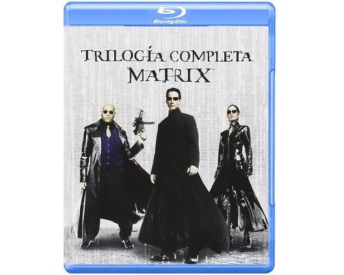 Trilogía de Matrix barata, películas en Blu-Ray baratas, chollos en Blu-Ray, ofertas en Blu-Ray, películas baratas
