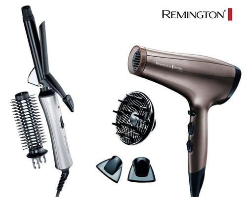secador y rizador moldeador de pelo Remington baratos, secadores de pelo baratos, rizadores de pelo baratos, chollos en secadores de pelo, chollos en rizadores de pelo