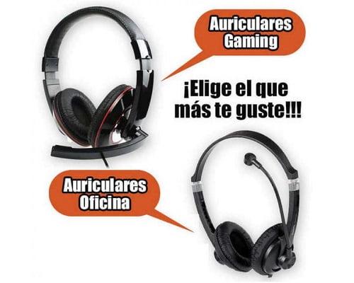 Auriculares Natec Gaming y oficina baratos, chollos en auriculares gamming, auriculares baratos