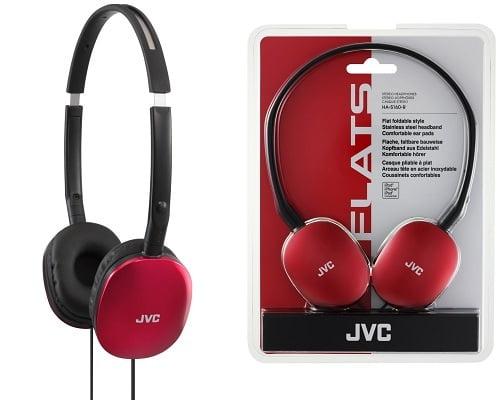Auriculares de diadema JVC HA-S160-R baratos, chollos en auriculares, auriculares baratos, ofertas en auriculares