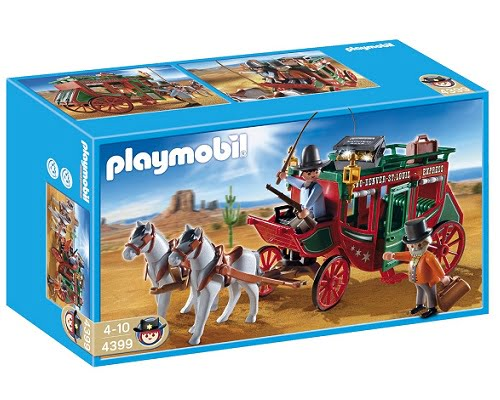 Diligencia del Oeste Playmobil barata, juguetes de Playmobil baratos, chollos en Playmobil, ofertas Playmobil, juguetes baratos