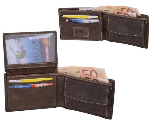 Cartera de piel Red Rock barata, carteras de piel baratas, carteras baratas, chollos en carteras, billeteras de piel baratas, ofertas en carteras
