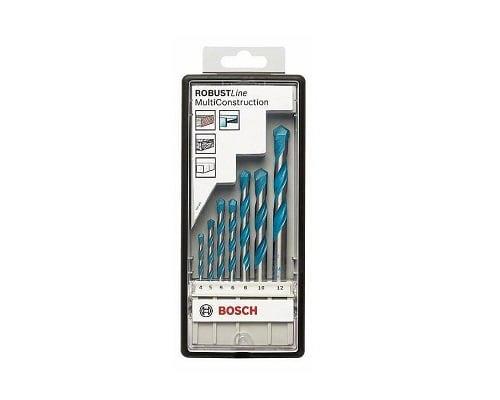 Juego de 7 brocas multiusos Bosch Robust Line CYL-9 Multi Construction barato, brocas baratas, herramientas baratas, chollos en herramientas, ofertas e herramientas