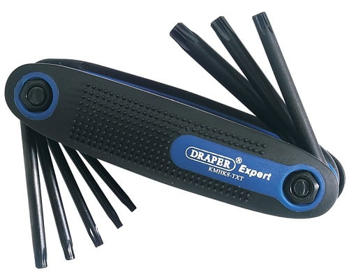 Juego de puntas hexagonales Torx Draper Expert 73074 barato, destornilladores baratos, destornilladores torx baratos, herramientas baratas, chollos en herramientas