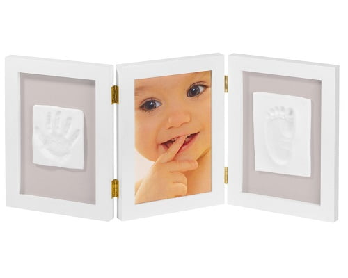 Marco para foto y huellas de bebé barato, marcos para fotos baratos, chollos en marcos para fotos, marcos para huellas de pies y manos baratos