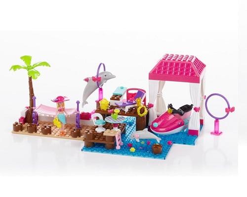 Mega Bloks Barbie Resort Tropical barato, juguetes baratos, chollos en juguetes, ofertas en juguetes