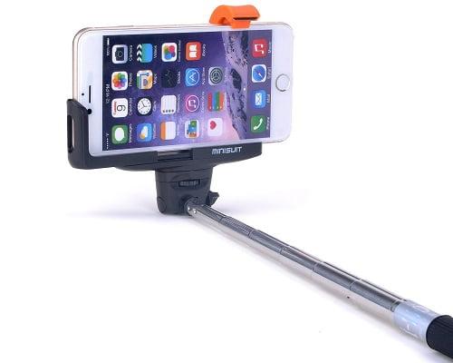 Palo de selfie Minisuit Bluetooth barato, palos de selfie baratos, palos de selfie con Bluetooth baratos, chollos en palos de selfie con Bluetooth