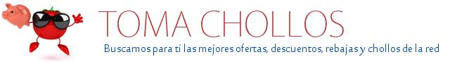 Tomachollos.com – Tu blog de chollos, rebajas, ofertas y descuentos en Internet Logo