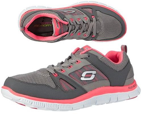 Zapatillas Skechers Flex Appeal Spring Fever baratas, zapatillas Skechers baratas, zapatillas de marca baratas, chollos en zapatillas de deporte, chollos Skechers