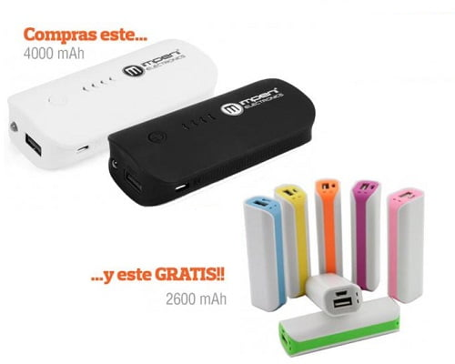 batería externa Imperii Power Bank barata, baterías externas baratas, chollos en baterías externas, ofertas en baterías externas