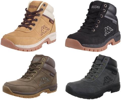Botas de montaña Kappa Bright Mid baratas, chollos en botas, chollos en calzado, calzado barato, botas de montaña baratas