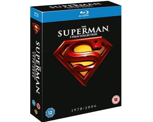 Antología de Superman en Blu-Ray barata, películas baratas, chollos en películas,