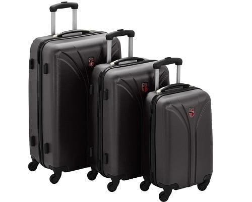 Juego de maletas Geographical Norway barato, maletas baratas, chollos en maletas, maletas de cabina baratas, ofertas en maletas