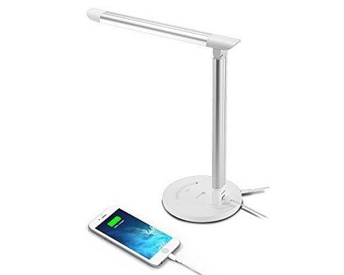 Lámpara de mesa LED TaoTronics 12W TT-DL13 barata, lámparas de mesa baratas, chollos en lámparas de mesa, lámparas de LED baratas