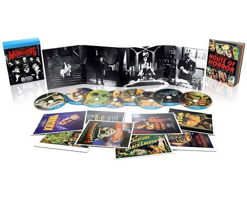 Pack 8 películas Monsters Classics barato, películas de terror baratas, chollos en películas de terror, películas en Blu-Ray baratas, chollos en películas Blu-Ray
