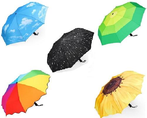 Paraguas automático de viaje Plemo barato, paraguas baratos, chollos en paraguas, ofertas en paraguas