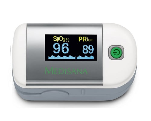 Pulsioxímetro Medisana PM 100 barato, pulxioxímetros baratos, chollos en pulsioxímetros, ofertas en pulsioxímetros