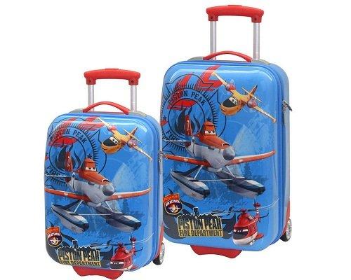 Set de maletas de cabina Aviones Disney baratas, chollos en maletas, maletas baratas, maletas infantiles baratas, ofertas en maletas