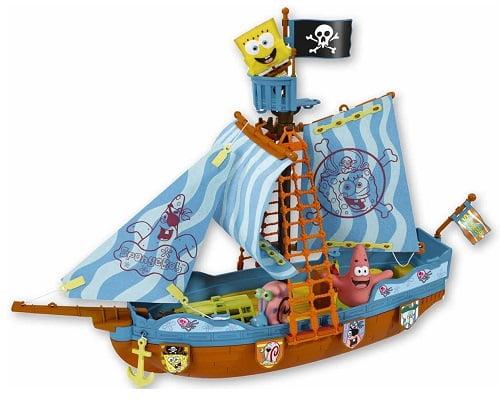 Barco pirata de Bob Esponja de Simba barato, juguetes baratos, chollos en juguetes, ofertas en juguetes