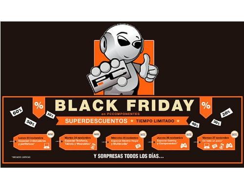 Black Friday de PCComponentes
