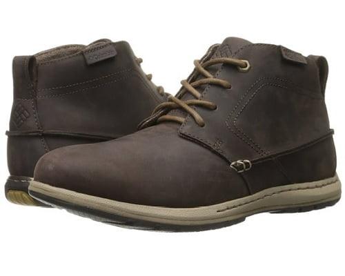 Botas de piel Columbia Davenport Chukka baratas, calzado de marca barato, chollos en calzado, calzado barato, ofertas en calzado