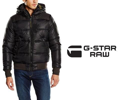 Cazadora G-Star Whistler Hooded Bomber barata, cazadoras baratas, chaquetas de marca baratas, abrigos baratos, ropa de marca barata, chollos en chaquetas de marca