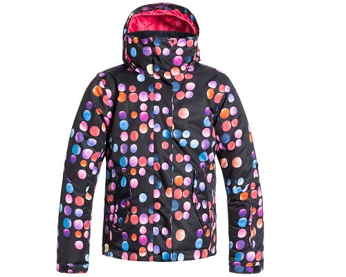 Chaqueta de niña Roxy Jetty Girl barata, chaquetas de marca baratas, chollos en chaquetas de marca, ropa de nieve barata