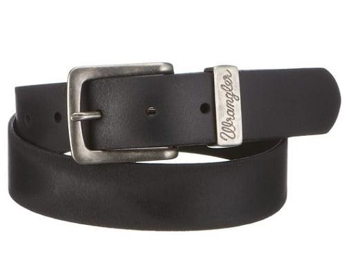 Cinturón de cuero Wrangler barato, cinturones baratos, chollos en cinturones, ofertas en cinturones