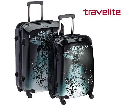 Juego de 2 maletas Travelite gota de agua baratas, maletas baratas, chollos en maletas, ofertas en maletas